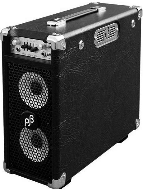 【100W】Phil Jones Bass Briefcase 新品 ブラック[フィルジョーンズ][ベースアンプ/コンボ,Bass Combo Amplifier][ブリーフ・ケース][Black,黒]