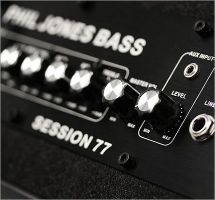 Phil Jones Bass Session 77新货[PJB][菲尔·琼斯][会议77][黑色,黑][Bass Combo Amplifier,基础放大器/小爵士乐队]