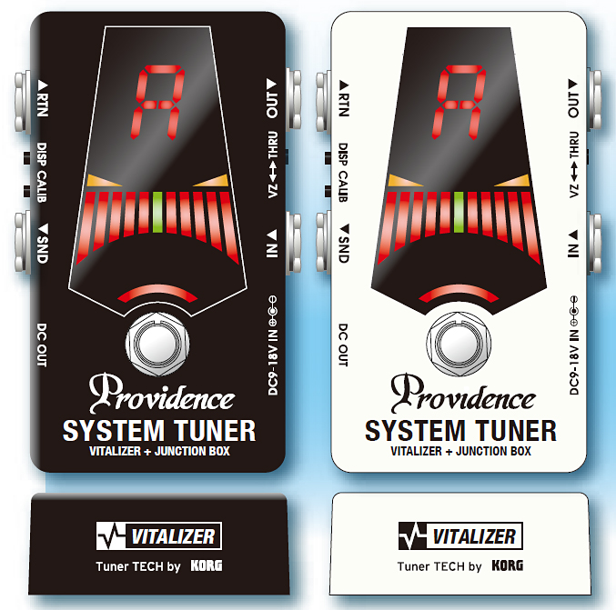 Providence STV-1JB Tuner/Junction Box/Vitalizer 新品[プロビデンス][チューナー,ジャンクションボックス,バイタライザー][Effector,エフェクター][Black,White][STV1JB]
