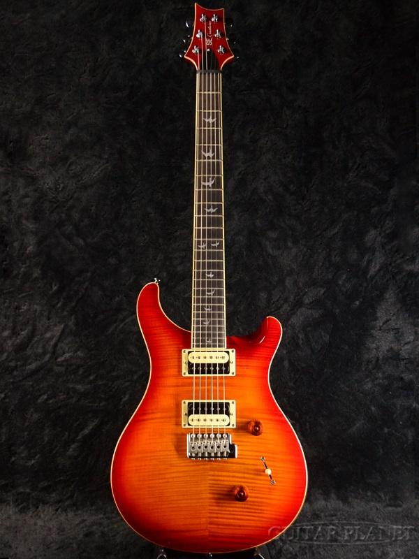 guitar planet paul reed smith se 30th anniversary custom 24 cherry sunburst brand new prs prs. Black Bedroom Furniture Sets. Home Design Ideas