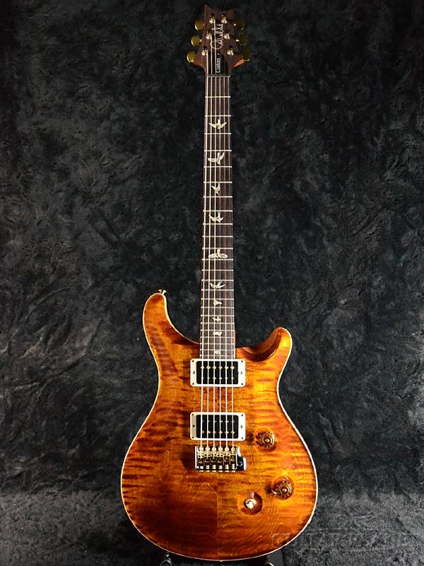 Paul Reed Smith Custom 24 -Black Gold (Natural Back)- 新品[ポールリードスミス,PRS][カスタム24][ブラックゴールド,金][Electric Guitar,エレキギター]