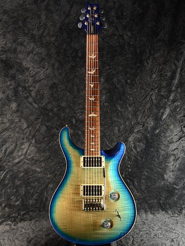 【中古】Paul Reed Smith Custom 22 10 Top -Makena Blue- 2013年製[ポールリードスミス,PRS][ブルー,バースト,Burst,青][Electric Guitar,エレキギター]【used_エレキギター】