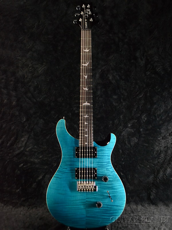 保罗 · 里德史密斯 SE 自定义 24 蓝宝石新 [PRS,PRS] [蓝宝石,蓝色] [电吉他、 电吉他]