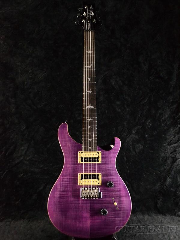 Paul Reed Smith SE Custom 24 Amethyst 新品 [ポールリードスミス,PRS][アメジスト,Purple,パープル,紫][Electric Guitar,エレキギター]