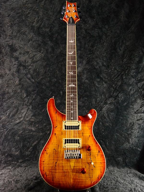 Paul Reed Smith SE Custom24 Spalted Maple Vintage Sunburst 新品[ポールリードスミス,PRS][SEカスタム][スポルテッドメイプル][ヴィンテージサンバースト][Electric Guitar,エレキギター]
