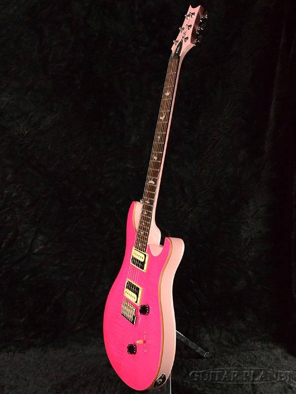 Paul 芦苇史密斯日本限制 SE 自定义 24 斜面火焰顶部-粉红色-品牌新 [PRS,PRS] [自定义 24] [birdineray] [粉红色] [电吉他、 电吉他]