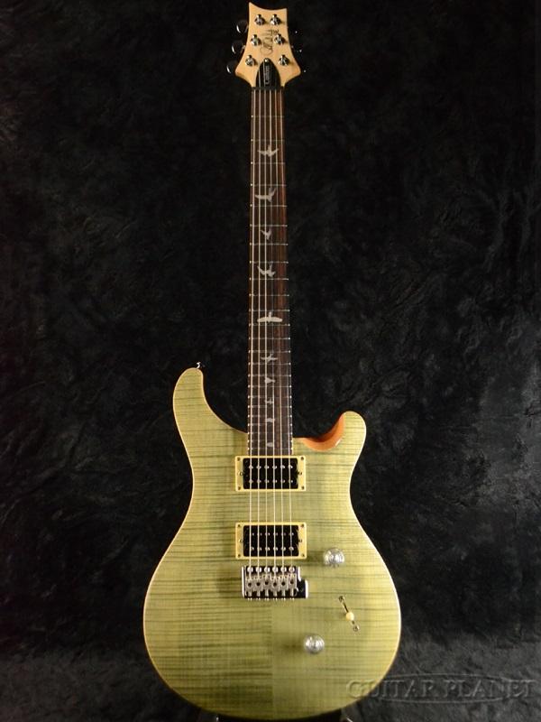 Paul Reed Smith SE Custom 24 Trampas Green 新品 トランパスグリーン [ポールリードスミス,PRS][カスタム][緑][Electric Guitar,エレキギター]