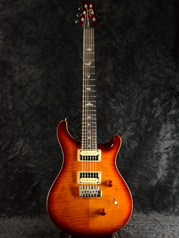 Paul Reed Smith SE Custom 24 Tobacco Sunburst 新品 タバコサンバースト[ポールリードスミス,PRS][Electric Guitar,エレキギター]