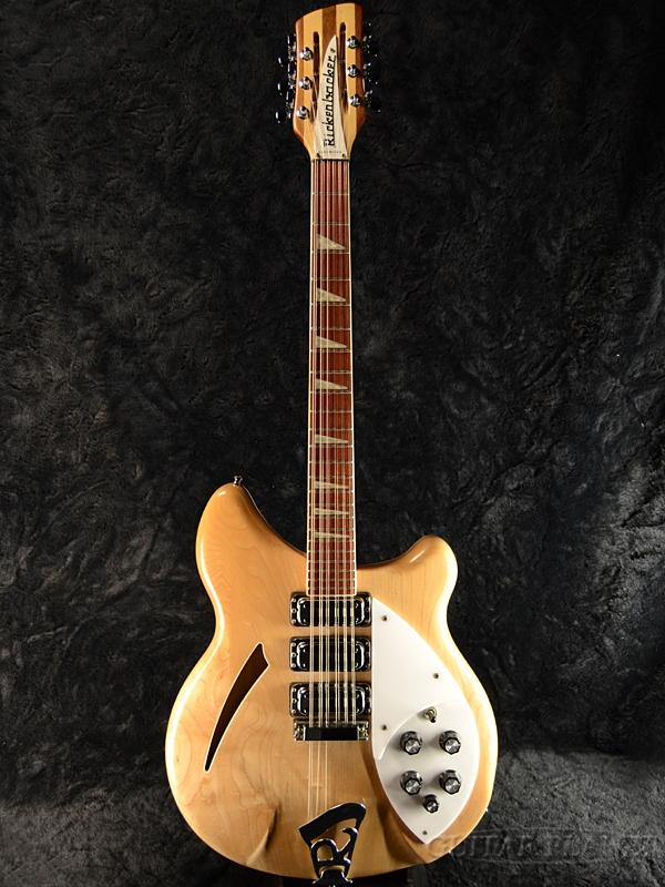 【中古】Rickenbacker 370/12VP -Mapleglo- 2001年製 [リッケンバッカー][12strings,12弦][メイプルグロー,ナチュラル][セミアコ][Electric Guitar,エレキギター]【used_エレキギター】