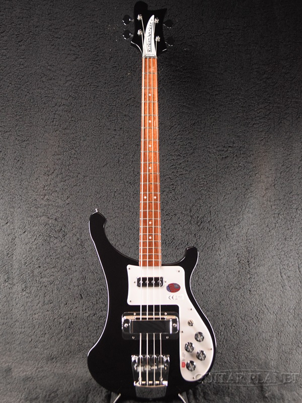 Rickenbacker 4003S Jetglo 新品 ジェットグロー[リッケンバッカー][JG,Black,ブラック,黒][エレキベース,Electric Bass]
