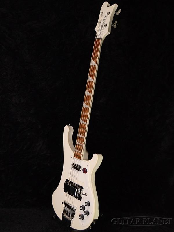Rickenbacker 4003新货Snowglo[里肯巴克][不辉光,白][电子吉他基础,Electric Bass]