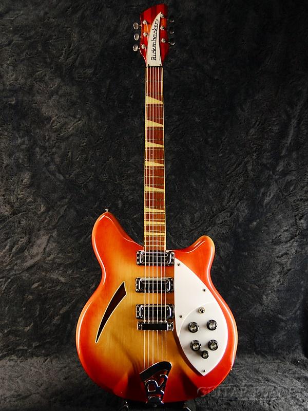 【中古】Rickenbacker 370 -Fireglo- 1967年製[リッケンバッカー][ファイヤーグロー,チェリーバースト][フルアコ][Electric Guitar,エレキギター]【used_エレキギター】