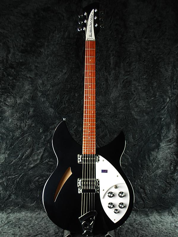 Rickenbacker Model 330 Jetglo 新品 ジェットグロー [リッケンバッカー][Black,ブラック,黒][セミアコ][JG][Electric Guitar,エレキギター]
