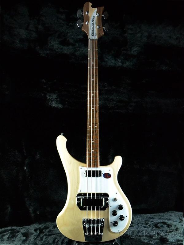 Rickenbacker 4001S Satin Mapleglo新货[里肯巴克][段子梅夷拉辉光,天然][点位置标记][电子吉他基础,Electric Bass]