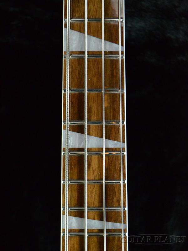 Brand new Rickenbacker 4003 CB Mirror-Pearl Jetglo-[Rickenbacker] [perljetglo, Black, black, Black] [checkerbinding] Miller pick guard electric bass, Electric Bass