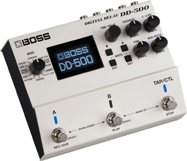 BOSS DD-500 Digital Delay 新品[ボス][デジタルディレイ][Effector,エフェクター]
