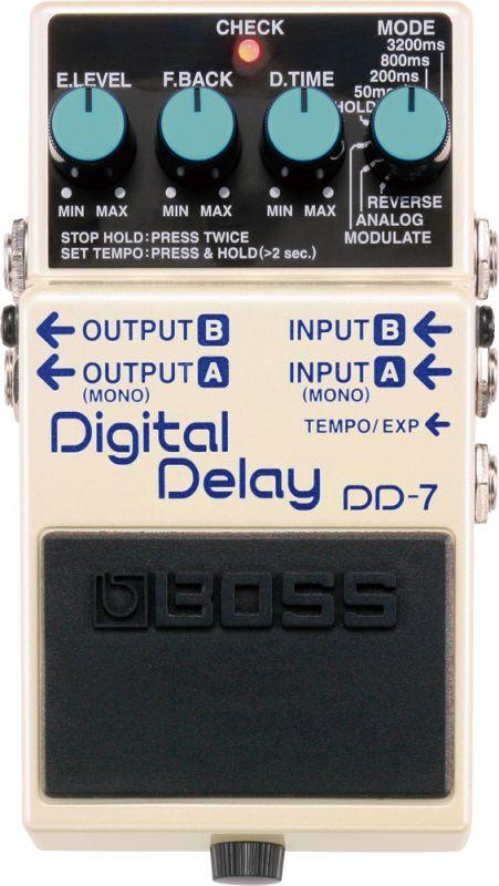 BOSS DD-7 新品 Digital Delay[ボス][エフェクター,Effector][ロングディレイ][アナログ][リバース][モジュレート]