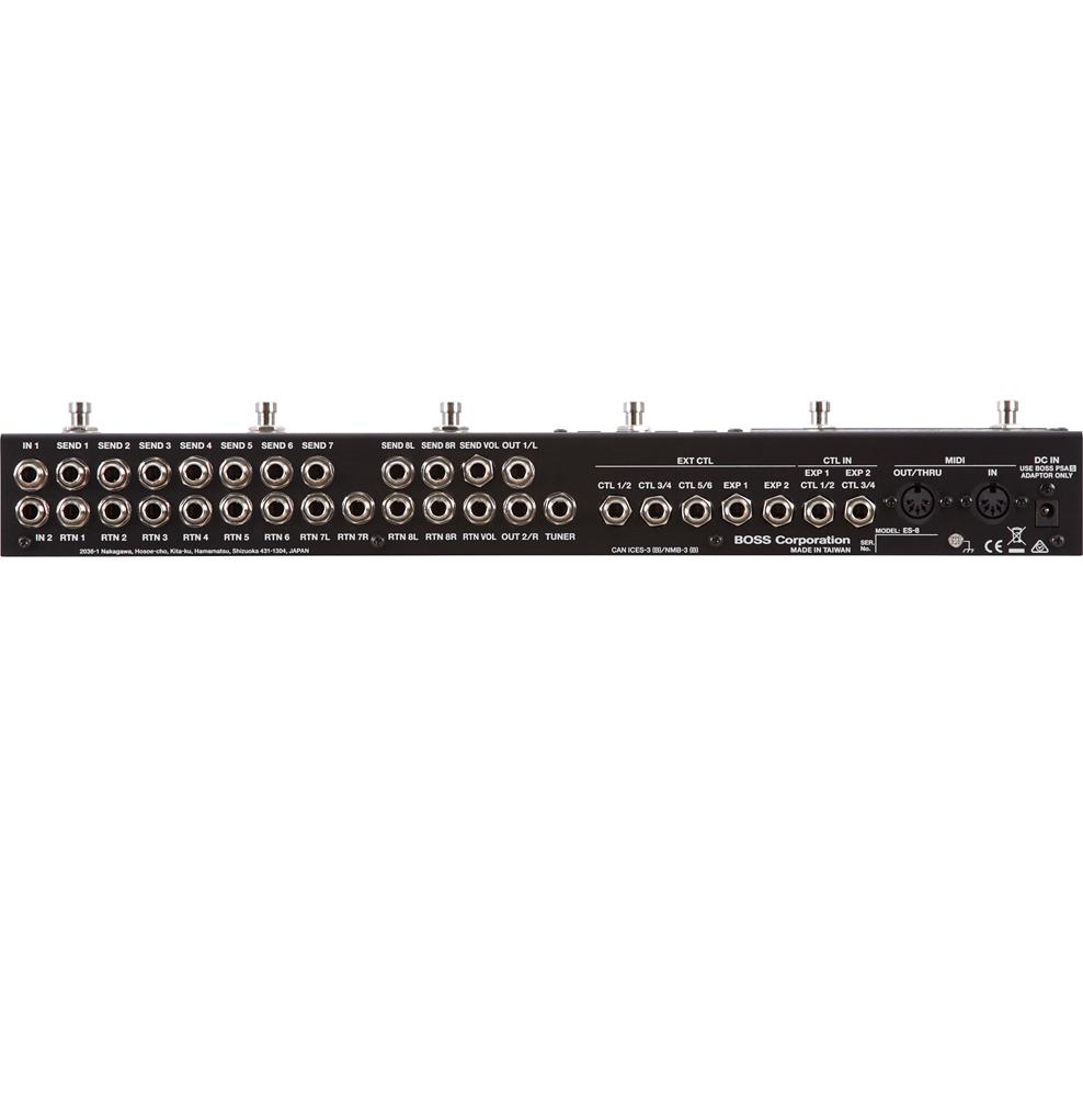 BOSS ES-8 Effects Switching System新货程序开关[老板][效果开关系统][Effector,效应器][ES8]