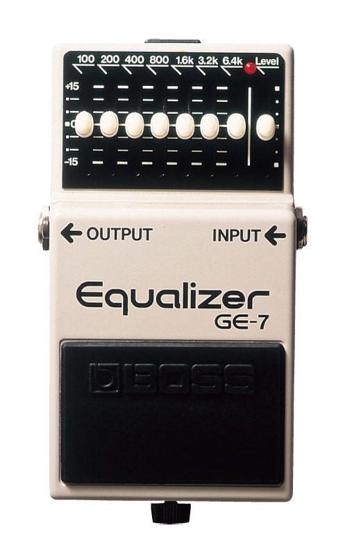 BOSS GE-7 新品 Equalizer[ボス][エフェクター,Effector][イコライザー][グライコ]