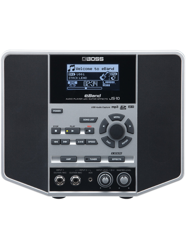 BOSS eBand JS-10 新品 Audio Player JS10 with オーディオプレーヤー 上品 Guitar ボス Effects 買い取り