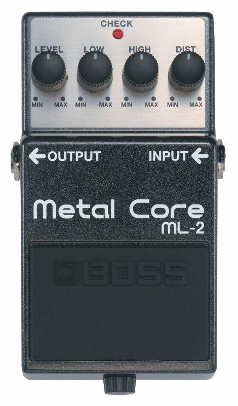 BOSS ML-2 新品 Metal Core[ボス][エフェクター,Effector][メタルコア][Distortion,ディストーション][ML2]