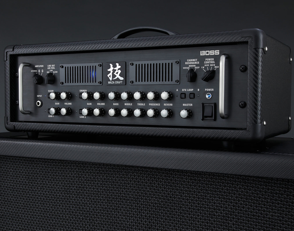 【150W】BOSS WAZA Amp Head 新品 ギターアンプヘッド[ボス][技クラフト,ワザ][4チャンネル,4channel][Guitar Amplifier]