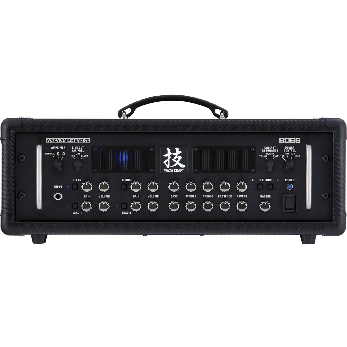 【75W】BOSS WAZA-HD75 Amp Head 新品 ギター用アンプヘッド[ボス][技クラフト,ワザ][Guitar Amplifier]