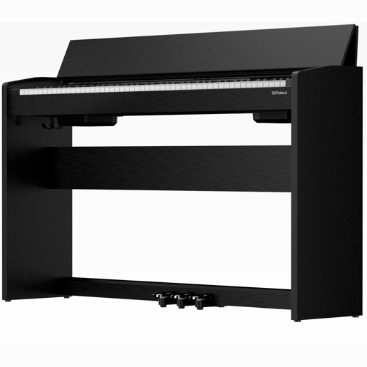 guitar planet roland f 140r cb new electronic piano roland black black black digital. Black Bedroom Furniture Sets. Home Design Ideas