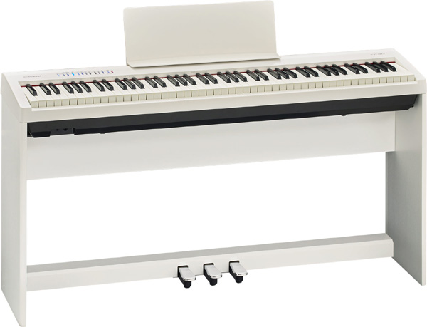【純正スタンド+ペダルユニット付 FP-30】Roland Digital FP-30 Digital Piano Piano 新品 ホワイト[ローランド][スピーカー内蔵][White,白][デジタルピアノ,電子ピアノ][Keyboard,キーボード][FP30][KSC-70][KPD-70], みんなの花屋さん ほのか:1872254a --- sophetnico.fr