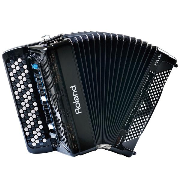 Roland FR-3XB 新品 ブラック 92ボタン Vアコーディオン[ローランド][FR3Xb][Black,黒][Accordion]