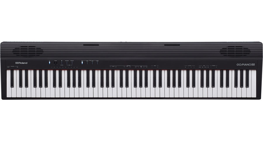 Roland GO:PIANO88 新品 88鍵盤 電子ピアノ[ローランド][88鍵盤,88keys][ブラック,黒][ピアノ][Keyboard,キーボード][GO-88P,GO PIANO]