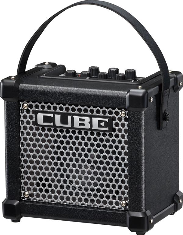【3W】Roland MICRO CUBE GX ブラック 新品[ローランド][マイクロキューブGX][Black,黒][ギターアンプ/コンボ,Guitar Combo Amplifier]
