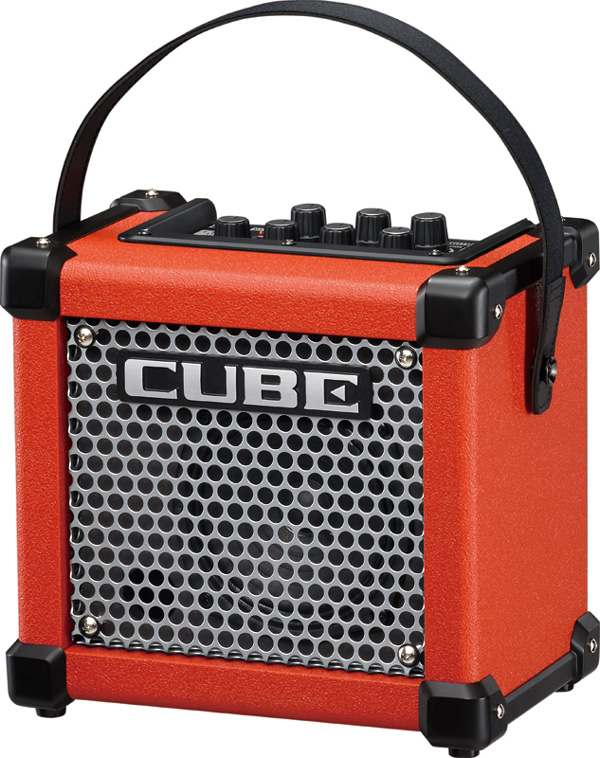 【3W】Roland MICRO CUBE GX レッド 新品[ローランド][マイクロキューブGX][Red,赤][ギターアンプ/コンボ,Guitar Combo Amplifier]