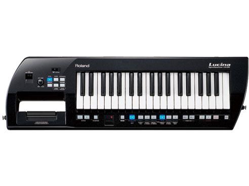 罗兰 Lucina AX 09BK 品牌的新合成器 [罗兰] 和 [Lucina] [/ 黑色闪耀] [沫沫] 肩键盘 [synth] [键盘]