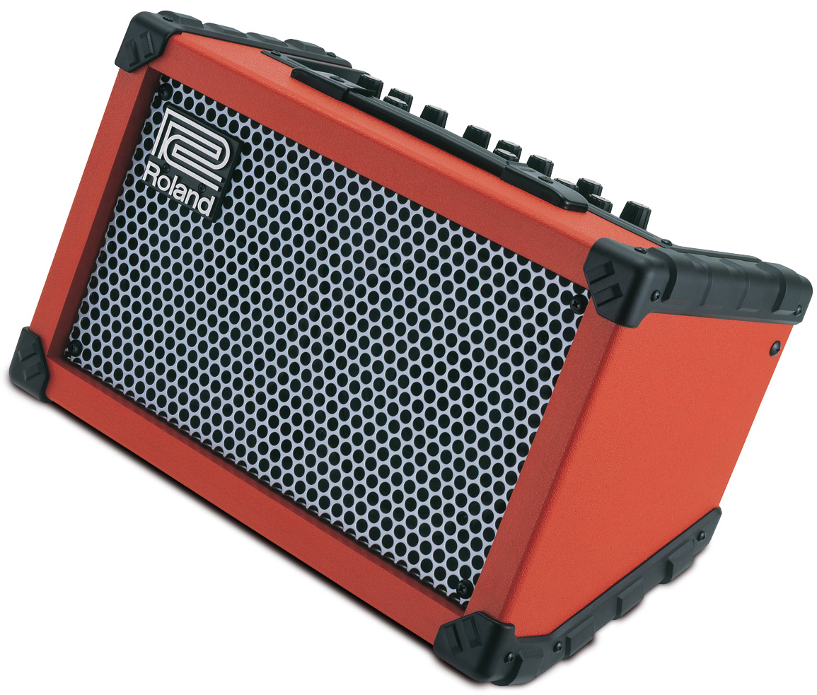 【5W】Roland CUBE Street レッド 新品[ローランド][キューブストリート][Red,赤][ギターアンプ/コンボ,Guitar combo amplifier][CUBE-ST]