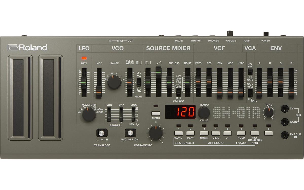 Roland SH-01A Synthesizer 新品 シンセサイザー[ローランド][SH01A]