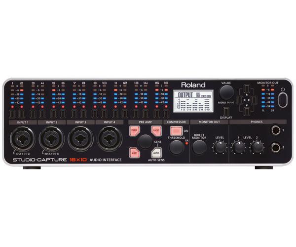 Roland STUDIO-CAPTURE UA-1610 新品 USBオーディオインターフェース[ローランド][スタジオキャプチャー][Audio Interface]