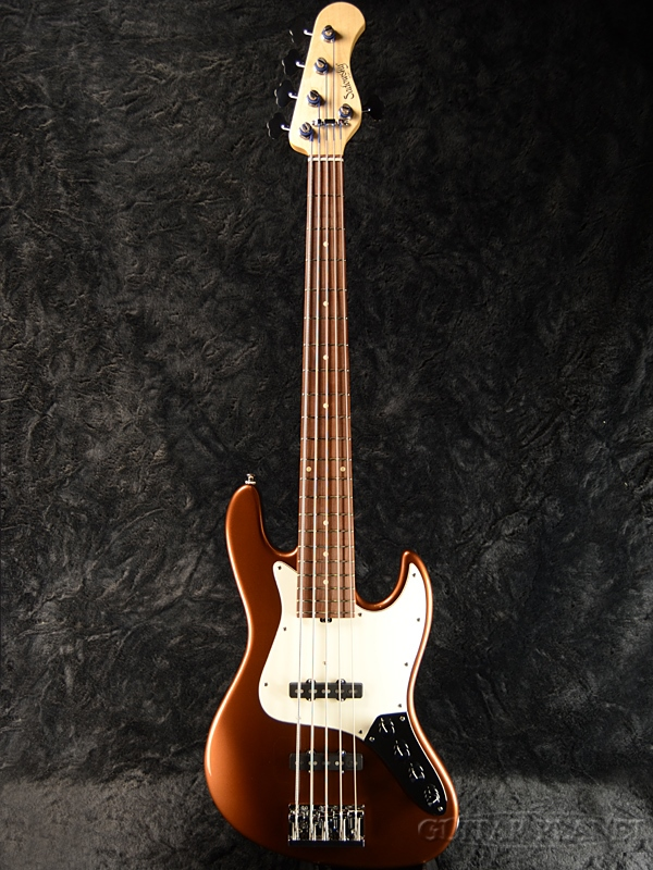 Sadowsky NYC Vintage 5 -Metallic Bourbon- 新品[サドウスキー][ヴィンテージ][メタリックバーボン][Jazz Bass,ジャズベースタイプ,ジャズベ][5strings,5弦][Electric Bass,エレキベース]