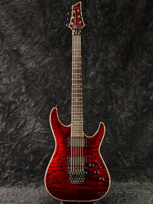Schecter HELLRAISER AD-C-1-FR-HR Black Cherry 新品[シェクター][ダイヤモンドシリーズ][ヘルレイザー][ブラックチェリー,赤][Stratocaster,ストラトキャスタータイプ][Electric Guitar,エレキギター]
