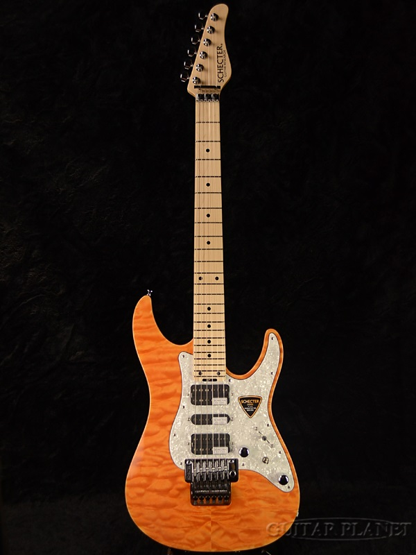 【楽ギフ_包装】 Schecter SD-II-24-AL -Amber- -Amber- 新品[シェクター][国産][アルダー][アンバー,黄][Stratocaster,ストラトキャスタータイプ][Electric SD-II-24-AL Guitar,エレキギター], 自動車工具専門店:ab49d077 --- beautyflurry.com