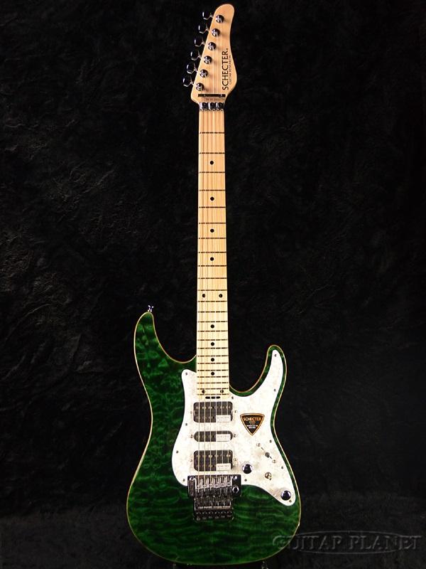 激安大特価! Schecter Green- SD-II-24-AL SD-II-24-AL -See Thru Green- -See 新品[シェクター][国産][アルダー][シースルーグリーン,緑][Stratocaster,ストラトキャスタータイプ][Electric Guitar,エレキギター], 小値賀町:e920b095 --- beautyflurry.com