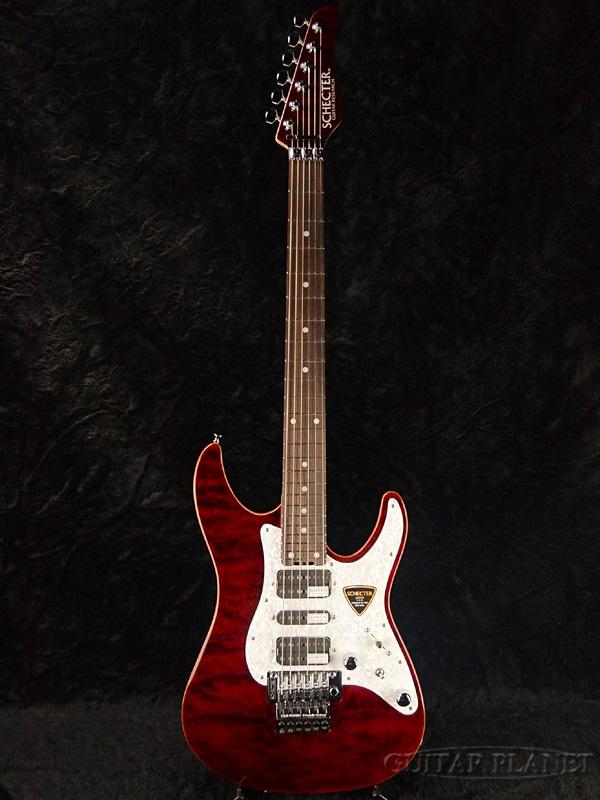 最新な Schecter SD-II-24-AL Red- -See Thru Red- -See 新品[シェクター][国産][アルダー][シースルーレッド,赤][Stratocaster,ストラトキャスタータイプ][Electric SD-II-24-AL Guitar,エレキギター], クーセレクトショップ:212bfd98 --- beautyflurry.com