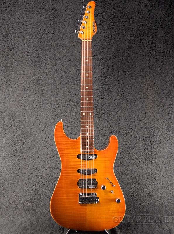 【中古】Schecter EX-IV-CTM -Amber Burst- 2004年製[シェクター][エクシードシリーズ][アンバーバースト][Stratocaster,ストラトキャスタータイプ][Electric Guitar,エレキギター]【used_エレキギター】