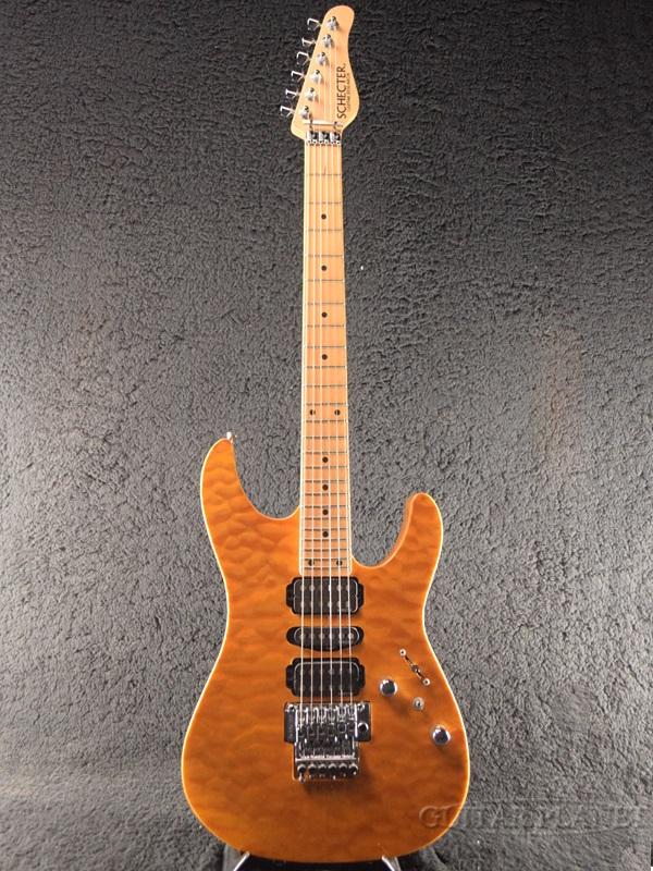 【中古】Schecter NV-III-24-AS -Amber- 2009年製[シェクター][アンバー][Stratocaster,ストラトキャスタータイプ][Electric Guitar,エレキギター]【used_エレキギター】