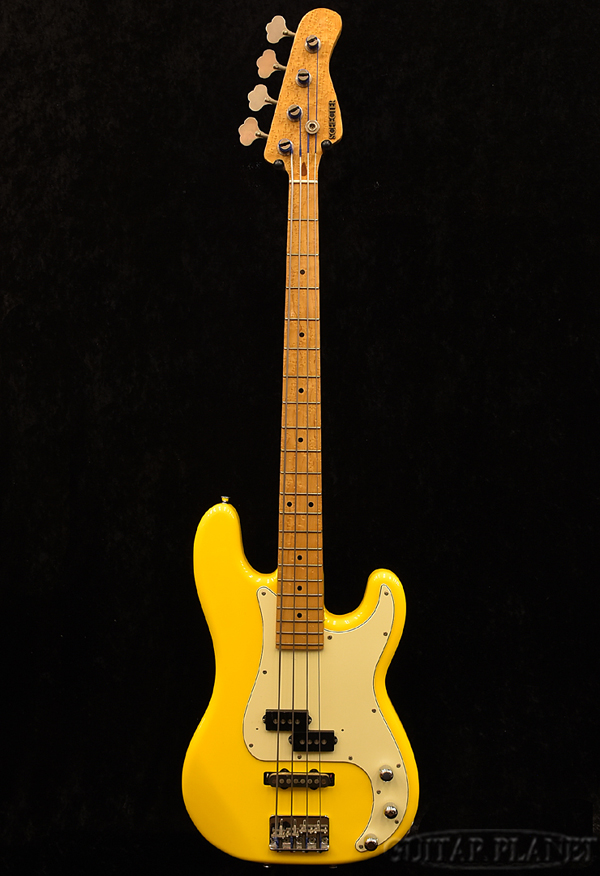 【中古】Schecter PJ Model -Yellow-[シェクター][イエロー,黄色][Precision Bass,プレシジョンベース,プレベ,PB][Electric Bass,エレキベース]【used_ベース】