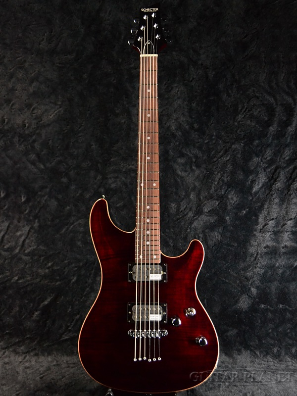guitar planet schecter rj 1 24 tom red brand new made in japan electric guitar rakuten. Black Bedroom Furniture Sets. Home Design Ideas