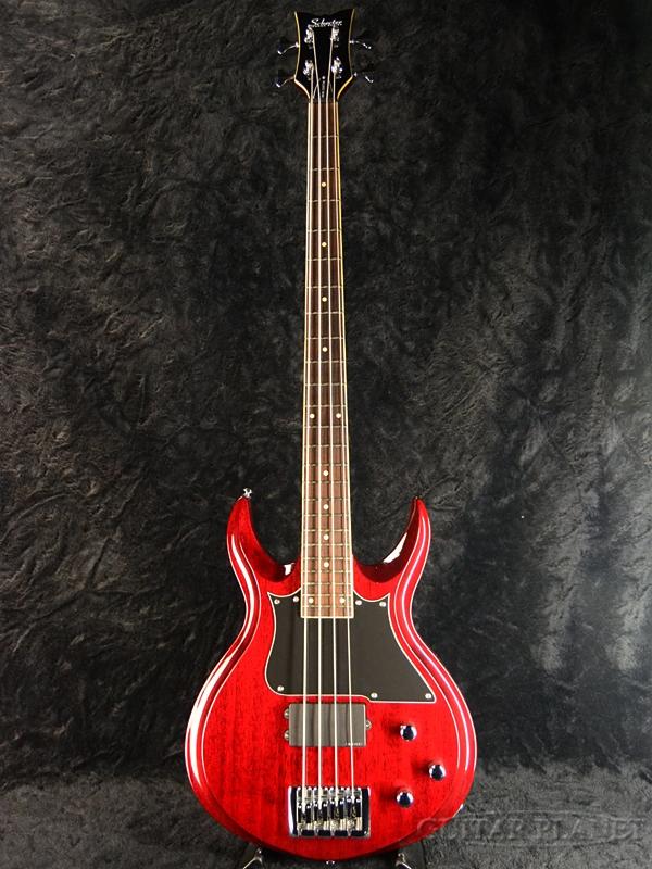 【中古】Schecter Devil Custom Bass[シェクター][Red,レッド,赤][エレキベース,Electric Bass]