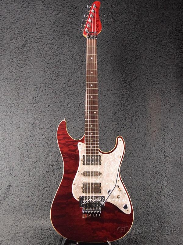 【中古】Schecter SD-2-22 -Red / Rosewood- 1990年代製[シェクター][レッド,赤][Stratocaster,ストラトキャスタータイプ][Electric Guitar,エレキギター]【used_エレキギター】