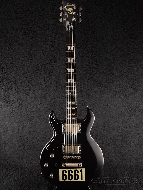 【中古】Schecter Zacky Vengeance 6661 Left Hand -Satin Black- 2013年製[シェクター][ザッキーヴェンジェンス][ブラック,黒][左用,左利き,レフトハンド,レフティー,Left hand][Electric Guitar,エレキギター]【used_エレキギター】