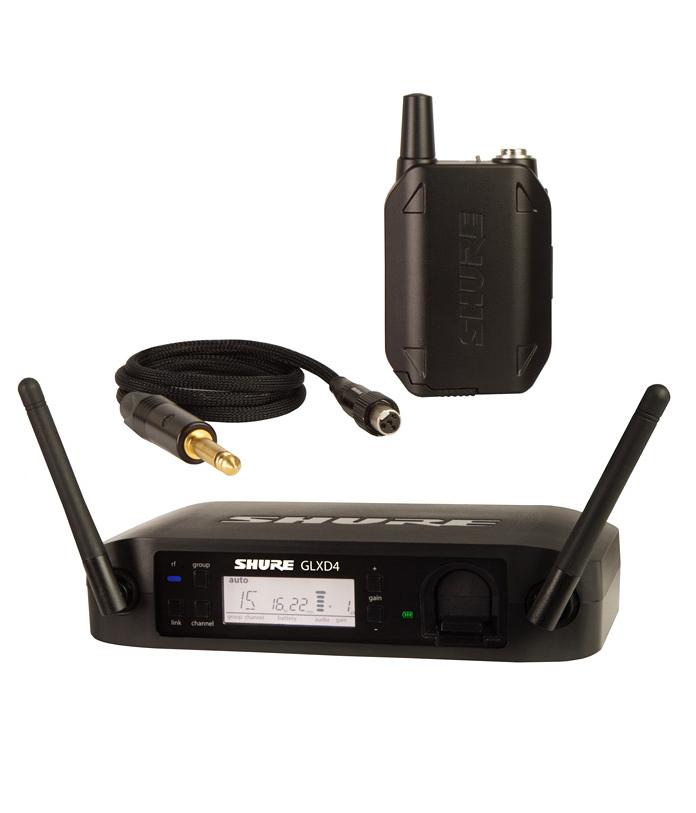 【正規品】SHURE GLXD14 新品 ワイヤレスシステム[シュアー][ボディパック型ワイヤレスシステム][Wireless Microphone]